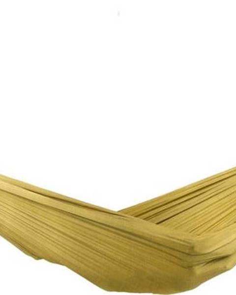 Descotis Žlutá houpací síť Descotis Bella, délka 420 cm