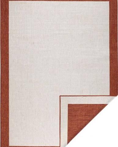 Červeno-krémový venkovní koberec Bougari Panama, 120x170 cm