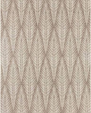 Hnědobéžový venkovní koberec Bougari Pella, 140 x 200 cm