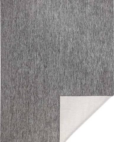 Šedý venkovní koberec Bougari Miami, 80x150 cm