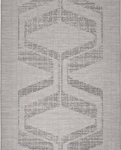 Šedý venkovní koberec Universal Weave Misana, 77 x 150 cm
