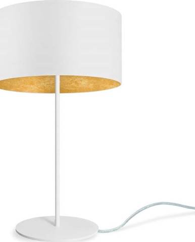 Bílá stolní lampa Sotto Luce MIKA Gold M,⌀36cm