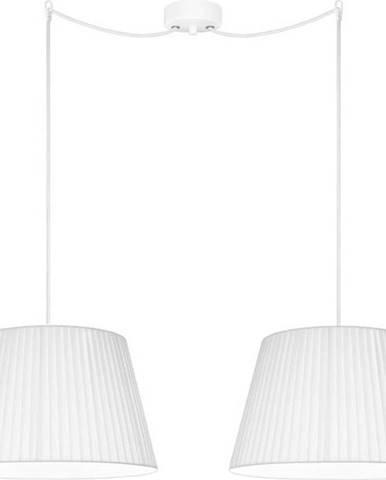 Bílé dvouramenné závěsné svítidlo Sotto Luce KAMI Elementary M 2S