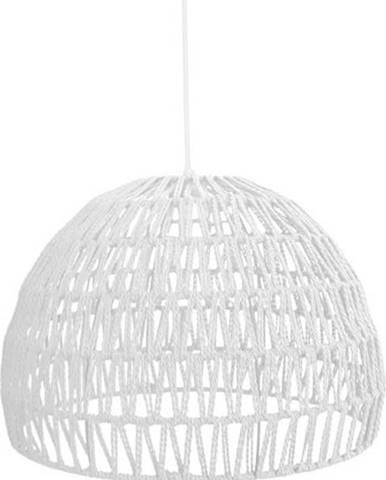 Bílé stropní svítidlo LABEL51 Rope, ⌀38 cm