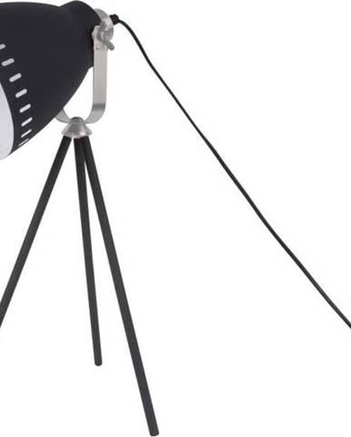 Černá stolní lampa Leitmotiv Tristar