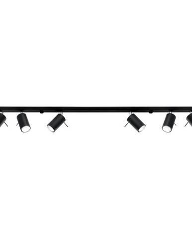 Černé stropní svítidlo Nice Lamps Etna 6L