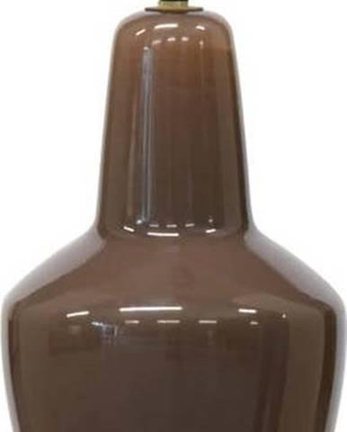 Hnědé skleněné stropní svítidlo BePureHome Coffee, ø 22 cm