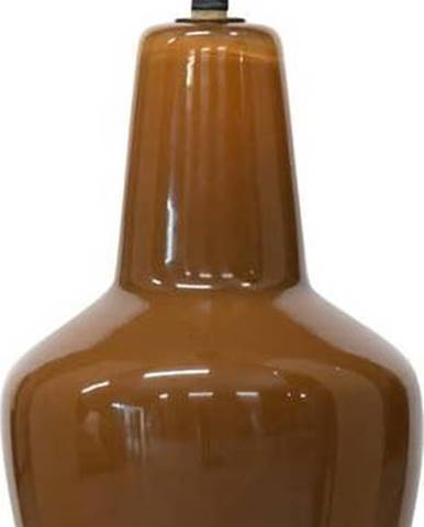 Hnědé skleněné stropní svítidlo BePureHome Syrup, ø 22 cm