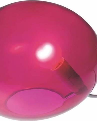 Růžová stolní lampa SULION Ball
