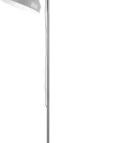 Šedá stojací lampa Leitmotiv Tuned Iron,výška180cm