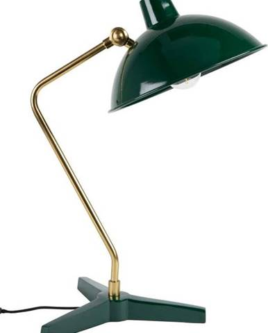 Zelená stolní lampa Dutchbone Devi