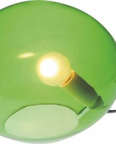 Zelená stolní lampa SULION Ball