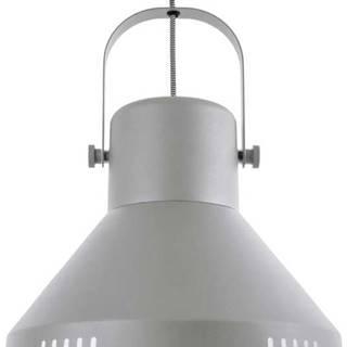 Šedé závěsné svítidlo Leitmotiv Tuned Iron,ø35cm