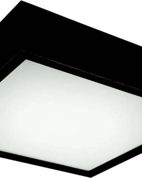 LAMKUR Černé čtvercové stropní svídidlo Lamkur Plafond, 37,5x37,5 cm