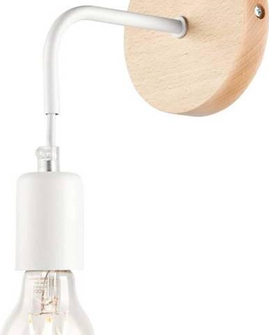 Bílá nástěnná lampa Lamkur Orazio
