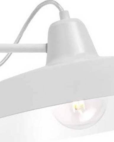 Bílé nástěnné svítidlo Bulb Attack Cinco Basic