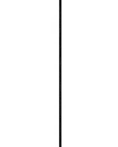 Bílé závěsné svítidlo s černou objímkou Sotto Luce DOSEI