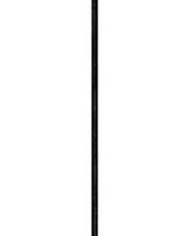 Bílé závěsné svítidlo s černým kabelem a detaily v měděné barvě Sotto Luce Awa