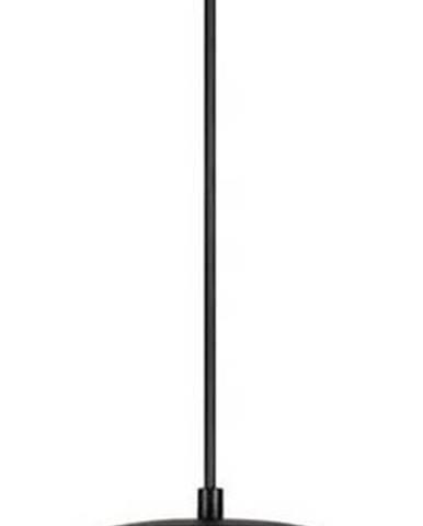 Bílé závěsné svítidlo s objímkou v černé barvě Sotto Luce TSUKI L,⌀30cm