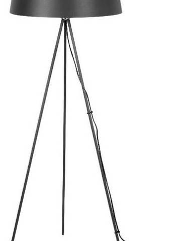 Černá stojací lampa Leitmotiv Classy