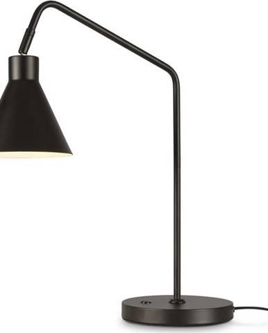 Černá stolní lampa Citylights Lyon, výška 55cm