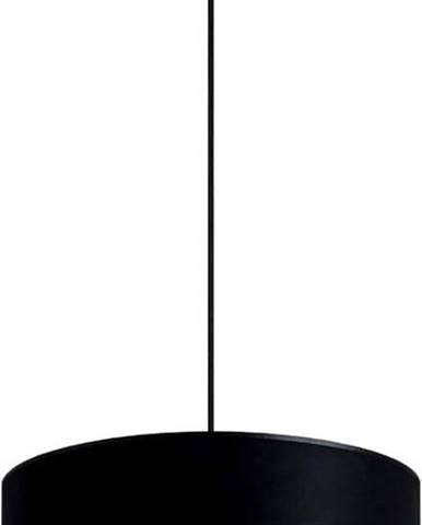 Černé stropní svítidlo s vnitřkem ve stříbrné barvě Sotto Luce Mika, ⌀40cm