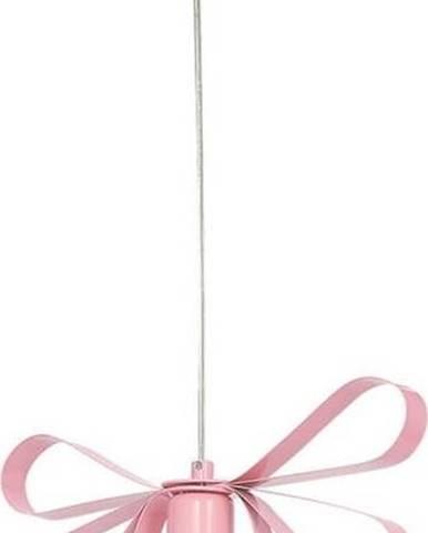 Růžové závěsné svítidlo Homemania Emma Uno