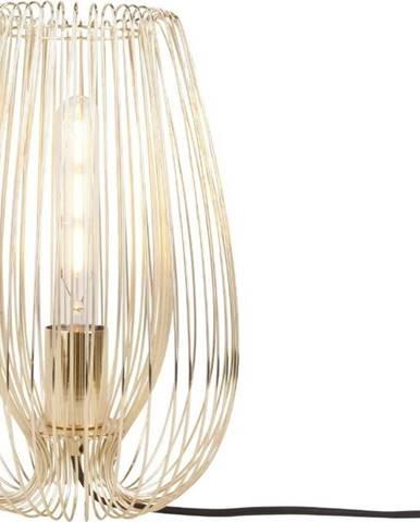Stolní lampa ve zlaté barvě Leitmotiv Lucid Large