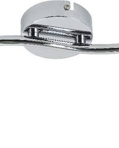 Stropní svítidlo ve stříbrné barvě pro 2 žárovky s LED světlem SULION Perls