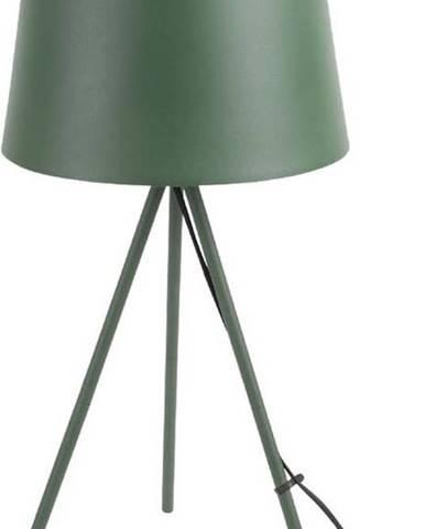 Tmavě zelené stolní lampa Leitmotiv Classy
