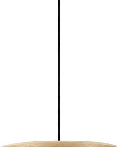 Závěsné svítidlo z dubové dýhy Sotto Luce TSURI XL, ø 45 cm