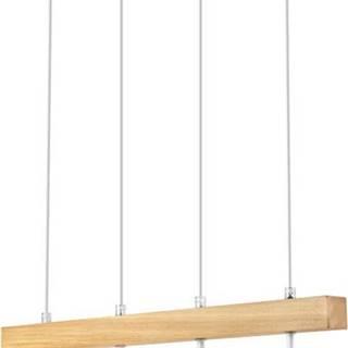 Bílé závěsné svítidlo pro 4 žárovky Lamkur Orazio