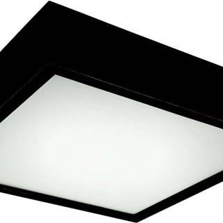 Černé čtvercové stropní svídidlo Lamkur Plafond, 37,5x37,5 cm