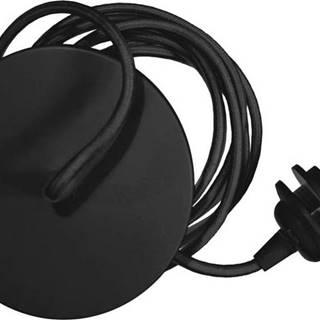 Černý závěsný kabel ke svítidlům UMAGE Rosette, délka210cm