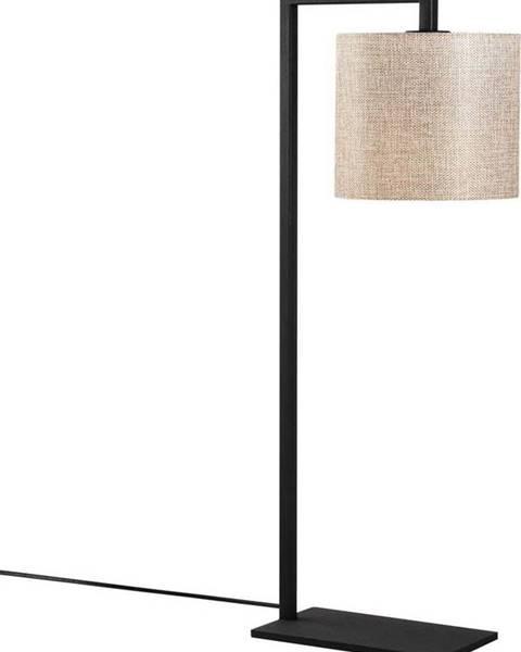 Opviq lights Černo-béžová stolní lampa Opviq lights Profil