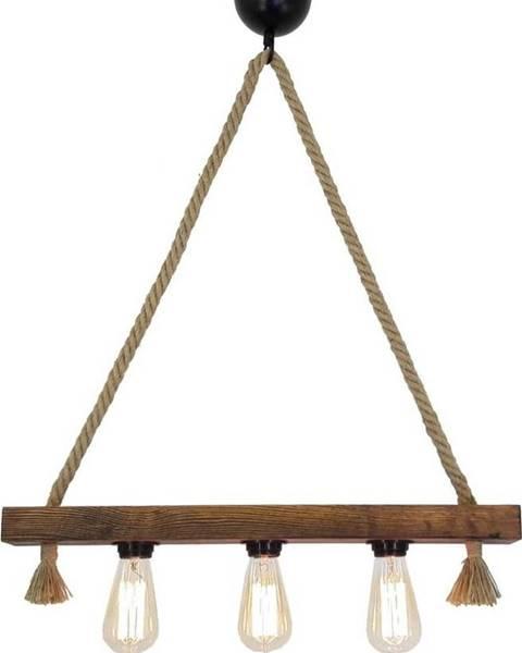 All Design Dřevěné stropní závěsné svítidlo Kutuk