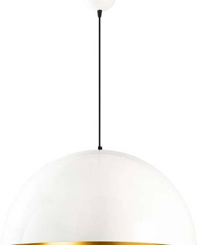 Bílé stropní svítidlo Opviq lights Berceste, ø60cm