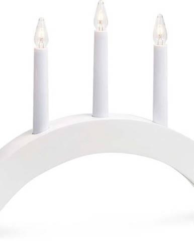 Bílý svícen Markslöjd Atle, délka 40 cm