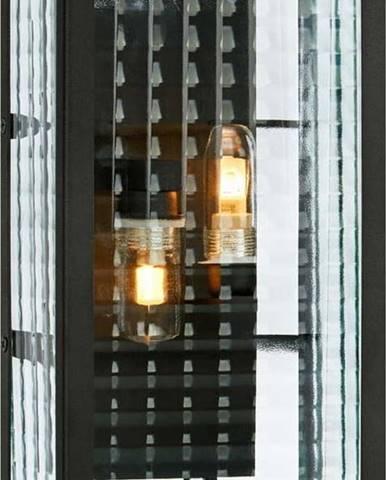 Černé nástěnné svítidlo Markslöjd Fulham