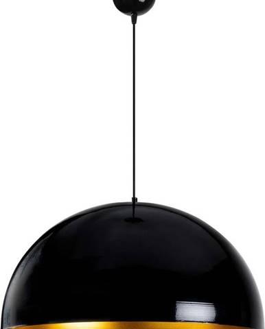 Černé stropní svítidlo Opviq lights Berceste, ø60cm