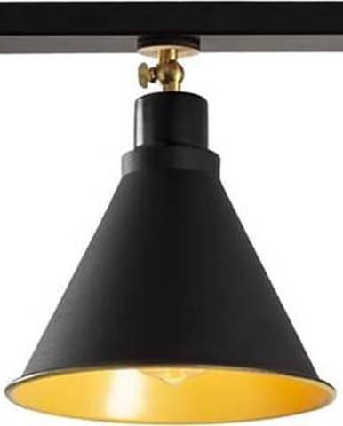 Černé stropní svítidlo pro 3 žárovky Opviq lights Berceste Short