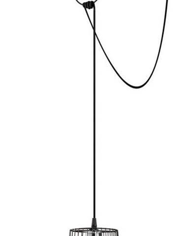 Černé závěsné svítidlo Opviq lights Tel Chain