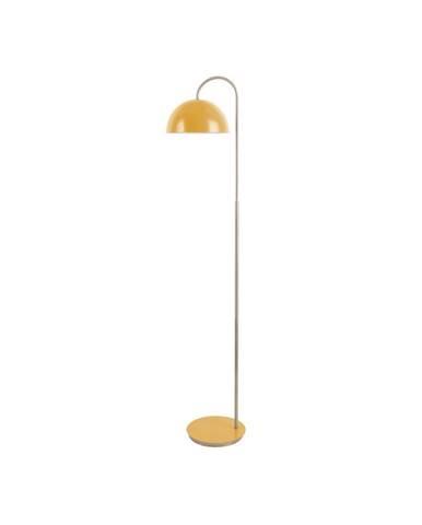 Stojací lampa v okrově žluté barvě Leitmotiv Decova