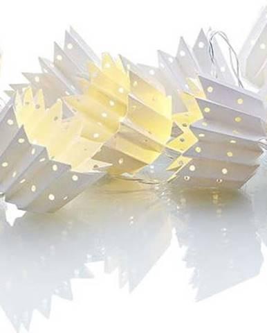 Transparentní LED světelný řetěz Markslöjd Mocka, 10 světýlek, délka 185 cm