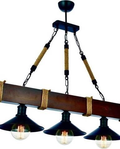 Závěsné svítidlo z habrového dřeva Kütük Ceviz