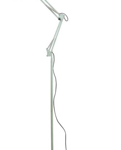 Zelená železná stojací lampa Leitmotiv Fit