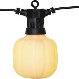 Černý venkovní světelný party LED řetěz Best Season Circus Maxi