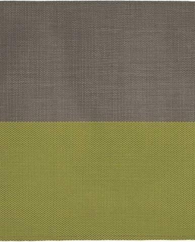Béžovo-zelené prostírání Tiseco Home Studio Stripe, 33x45cm
