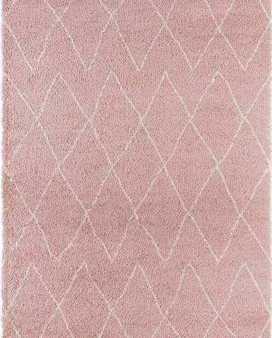 Růžový koberec Mint Rugs Jade, 120x170cm