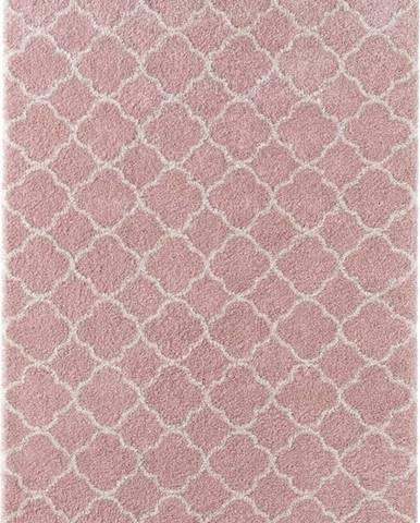 Růžový koberec Mint Rugs Luna, 80x150cm